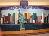 Senior Hallway: New York!