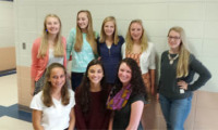 SCA students helping to promote Harvest for the Hungry