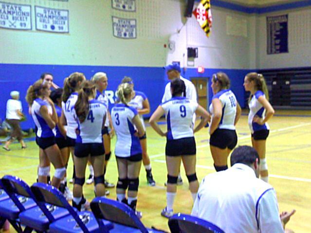 Girls Volleyball, Leonardtown vs. Northern, Sept. 15.