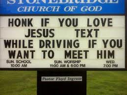 Text and Drive? How about text and die.
