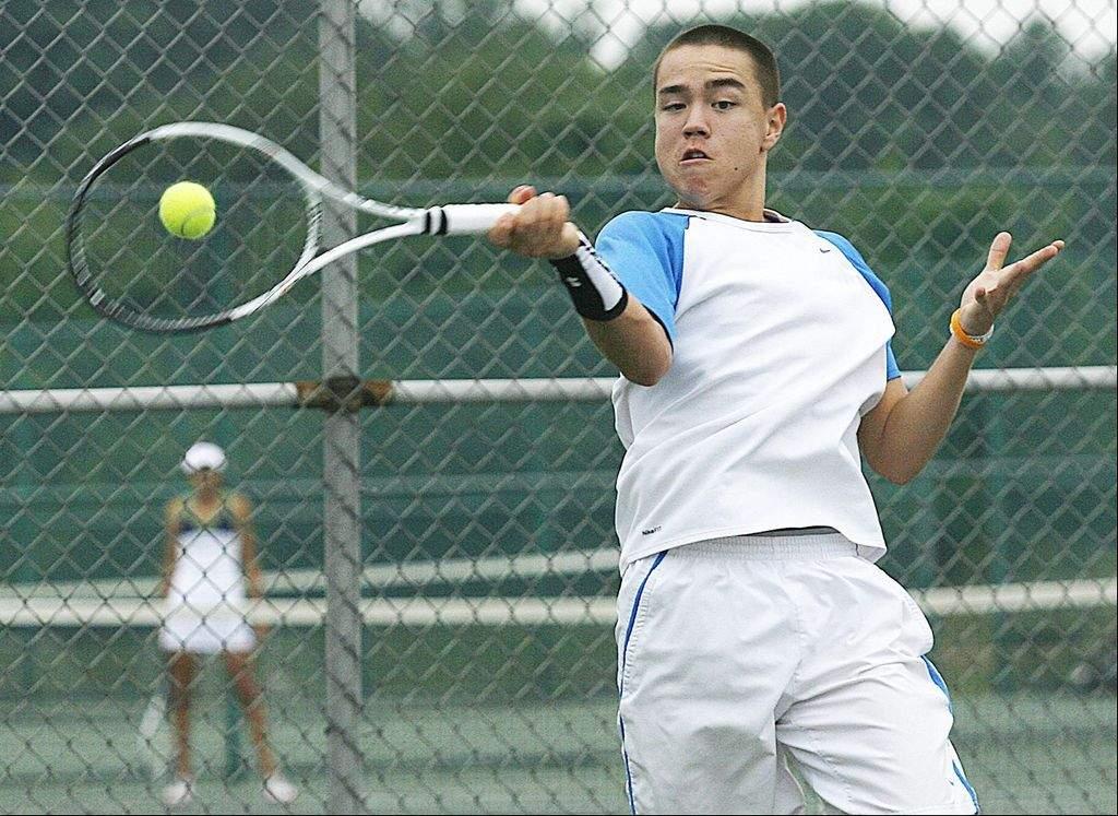Senior LHS Tennis Star Robert Renfrow