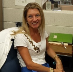 Welcome Mrs. Douglas to Leonardtown High School!