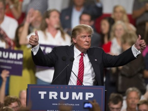 Donald Trump (Cheryl Evans, The Republic)