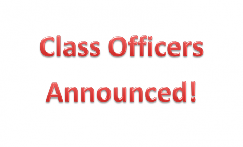 Class Officers Announced